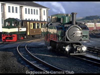 Steam at Porthmadog 2