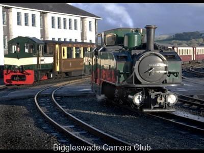 Steam at Porthmadog 2